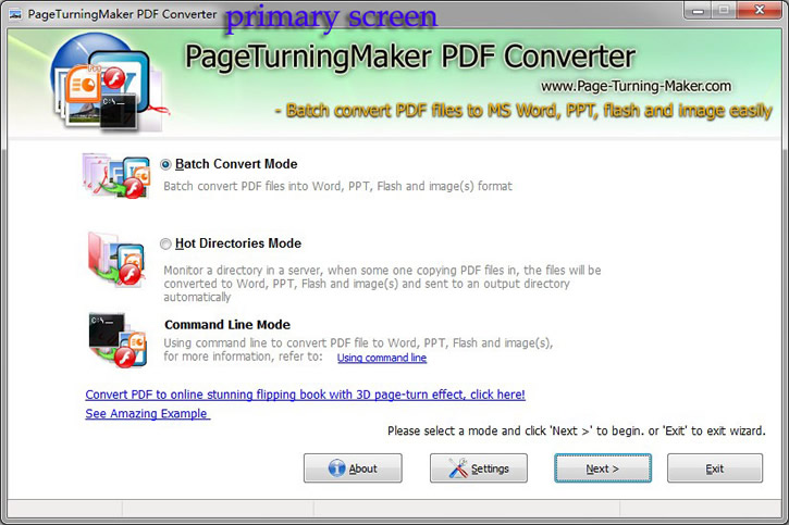 how to create a page turning pdf