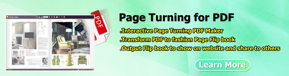 easy to convert PDF to flash page flip book