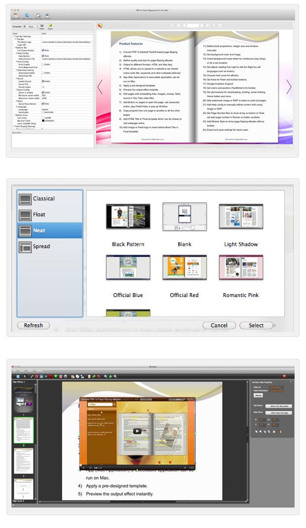 Page Turning Professional for PDF Mac full screenshot